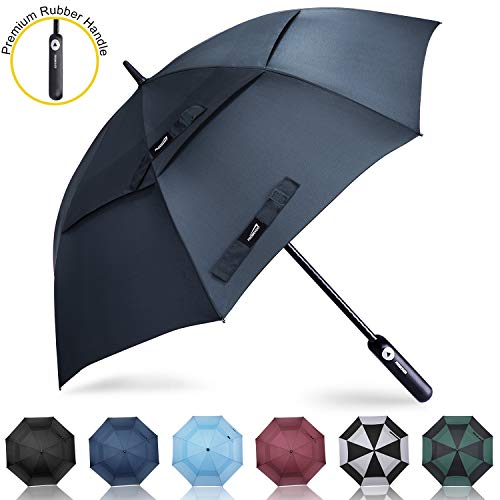 Prospo Golf Umbrella 62 inch Large Auto Open Windproof Double