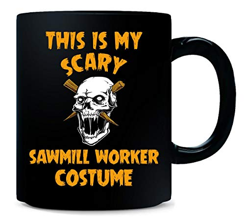 This Is My Scary Sawmill Worker Costume Halloween Gift - Mug