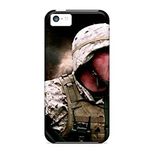 linJUN FENGNew Hard Cases Premium ipod touch 5 Skin Cases Covers(army Military Explosions Usa Infantry)