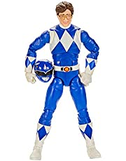 Power Rangers E8658 Lightning Collection Mighty Morphin Blue Ranger 6-Inch Premium Collectible Action Figure Toy with Accessories