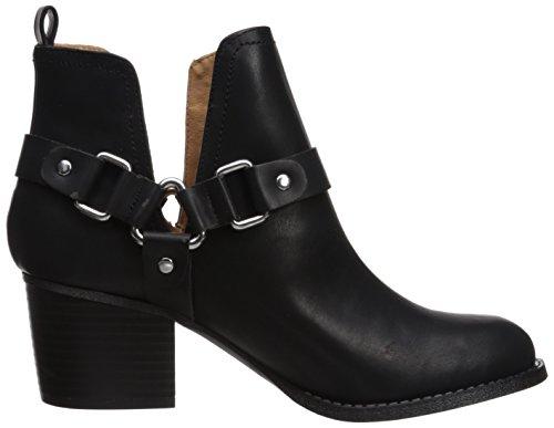 Madden Girl Womens Finian Ankle Boot Black Paris NgxqHN0iEP