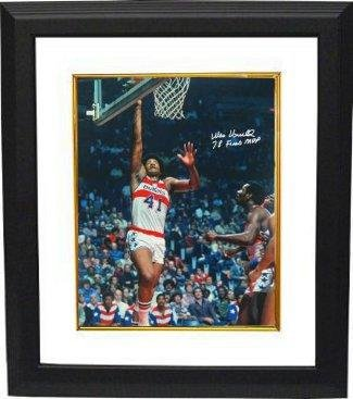 Wes Unseld Autographed Photo - 16x20 78 Finals MVP Custom Framed - Autographed NBA ()