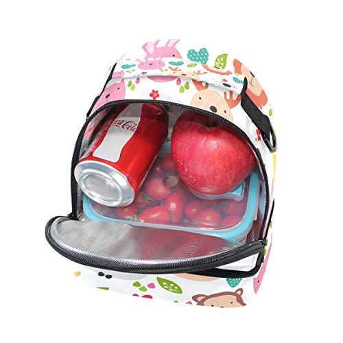 hombro la correa de Bolsa aislada pincnic para Alinlo de de ajustable con almuerzo escuela fqv4WS
