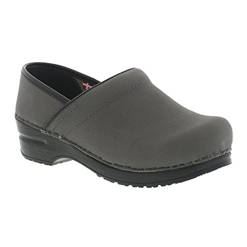 Sanita Textured Oil, Pro - Men Grey in WR Oiled Leather