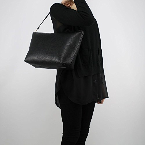 Reversible black Bolso Patrizia shopping Pepe schwarz black negro apwwzUqx