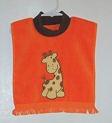 Giraffe Pullover Towel Baby Bib in Many ...