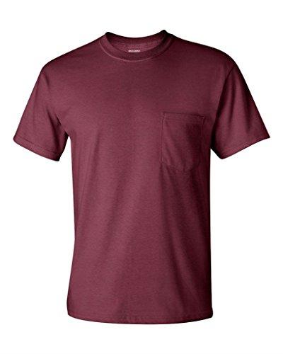 Saddleback Men's Workwear Short-Sleeve T-Shirt with (Chest Pocket Cotton T-shirt)