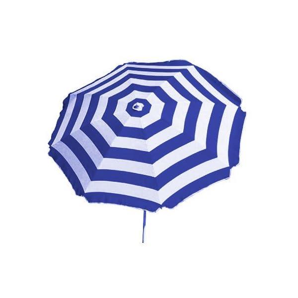 Shelta Australia Shelta Noosa - Ombrello da spiaggia, a righe, colore: Blu e Bianco 2 spesavip