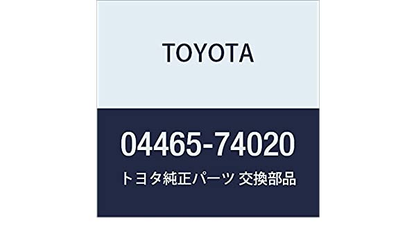 Toyota 04465-74020 Disc Brake Pad