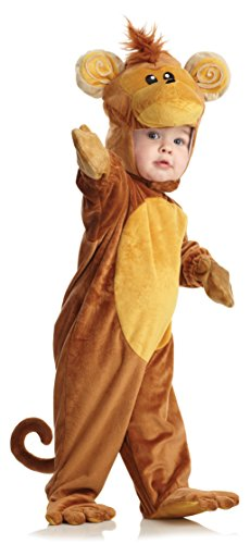 Underwraps Costumes Baby's Monkey, Brown/Tan, (Underwraps Costume)