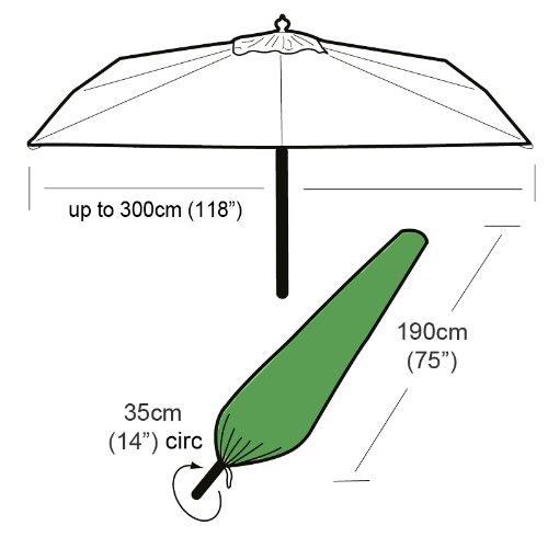 Gardman Giant Parasol Premium Heavy Duty Cover