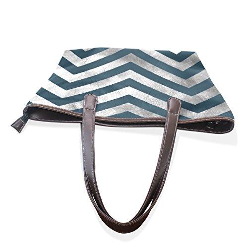 JSTEL , Damen Tote-Tasche blau blau L  (33x 45 x 13) cm
