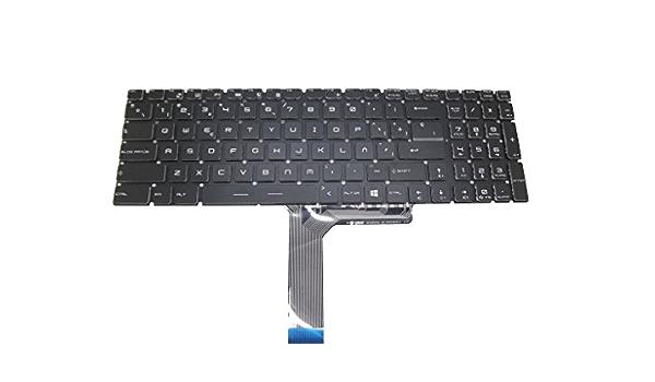 RTDpart Teclado retroiluminado para computadora portátil para ...