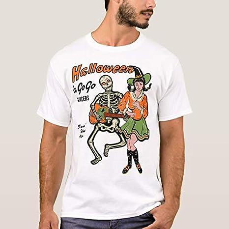 Ailovyo - Camisa Vintage de Halloween para Bailarinas para Hombre y Mujer Mutiple Small: Amazon.es: Ropa y accesorios