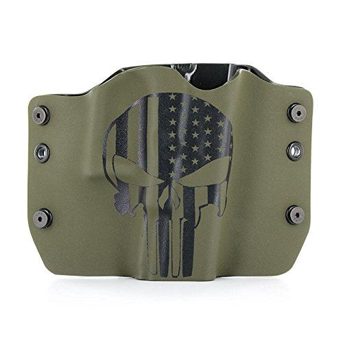 Punisher OD Green - OWB Holster (Right-Hand, 1911 w/o Rail)