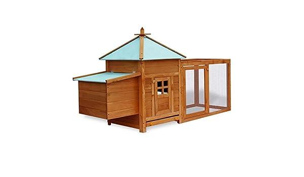 WEILANDEAL Gallinero para Exterior conejera Grande de exteriorMedidas de la Caja al Aire Libre:95 x 55 x 63 cm (Largo x Ancho x Alto): Amazon.es: Deportes y ...