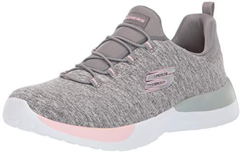 Skechers Sport Women's Dynamight-Breakthrough Sneaker,grey light pink,8 M US