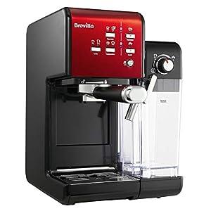 Breville Prima Latte II machine à café espresso, latte et cappuccino | pompe professionnelle 19 bars et mousseur à lait…