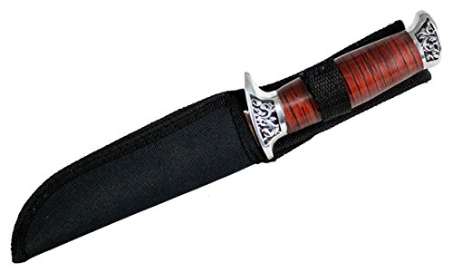 10-Hunt-Down-Fixed-Blade-Knife-engraved-Handle-and-Nylon-Sheath