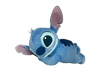 "Disney Lilo and Stitch Plush Toy- Stitch Laying Down Plush- 16"" Head to Toe"