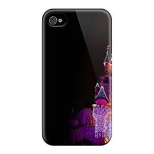 Cute Appearance Cover/tpu EiN2462MLlU Castle Case For Iphone 4/4s