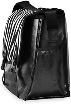メッセンジャーバッグ メンズ ゼブラ 白黒 斜めがけ 肩掛け カバン 大きめ キャンバス アウトドア 大容量 軽い おしゃれ