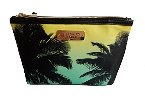 Victoria's Secret Ombre Palm Tree Makeup Cosmetic Yellow