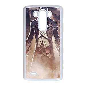 LG G3 Phone Case White Assassin's Creed Unity ZDC415172