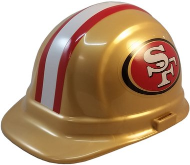 e6c4f88957d Image Unavailable. Image not available for. Color  Texas American Safety  Company San Francisco Forty-Niners Hard Hats