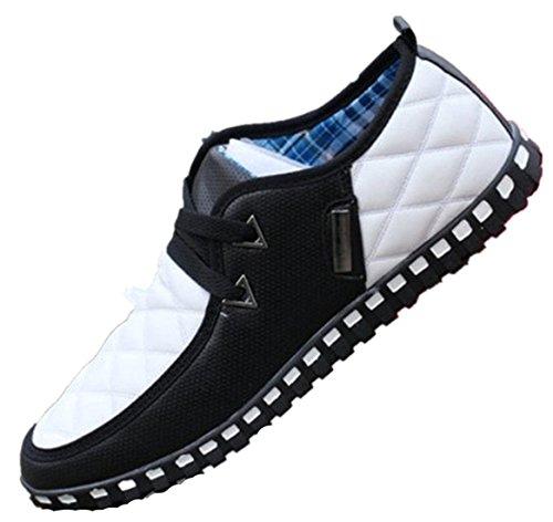 vera Bebete5858 slip bro estate casual da uomo summer confortevole on in uomo traspiranti scarpe soft brand pelle nero scarpe shoes fashion wrpvU8xqw