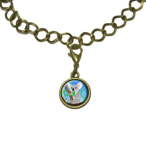 Koala Charm with Chain Bracelet