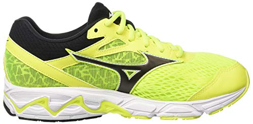 Mizuno Scarpe Wave Yellow Basse 001 Uomo Ginnastica Fierycoral Equate Multicolore da 2 Black qFRr4q