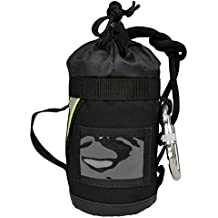 Lightning X Fire Rescue Personal Escape Rope Bag Bail Out Kit w/ 40' x 8mm Rope & Carabiner NFPA