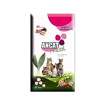 Pienso para gatos esterilizados ANCAT FRESH STERILIZED 10 KG: Amazon.es: Productos para mascotas