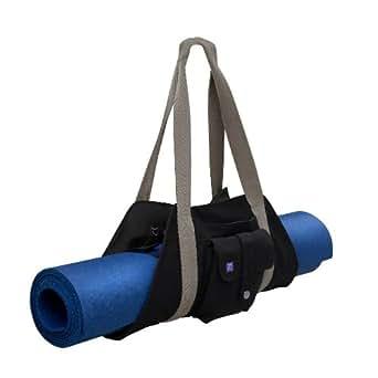 Zobha Essential Mat Carrier (Black/Olive, 0)