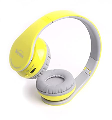 New Black/Red/White/Blue/Yellow/Pink More Color Bluetooth Headphones ---Wireless--Over-ear-- HiFi Stereo--- Built in Mic-phone with Retail Package (Over Ear Headphones Blue Tooth)