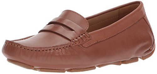 Naturalizer Women's Natasha Driving Style Loafer, Tan, 7 M US