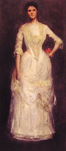 09b88c70e Portrait of Ella Emmet by Thomas Wilmer Dewing - 13
