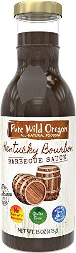Pure Wild Oregon BBQ Sauce, Kentucky Bourbon, 15 - Bourbon Sauce Barbecue