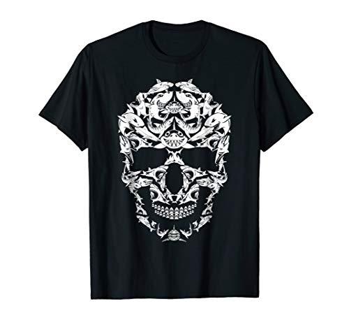 Shark Skull Shirt Skeleton Halloween Costume Idea -