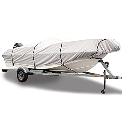 Boat Cover Beam Width Up to 106 Budge B-641-X7 Gray 22-24 Long