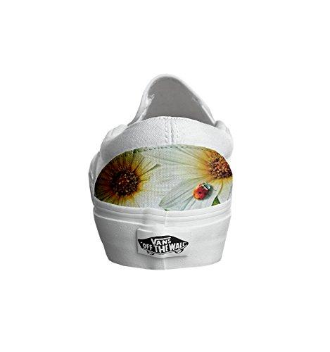 Vans Originali e personalizzate Unisex (Prodotto Artigianale) Ladybug