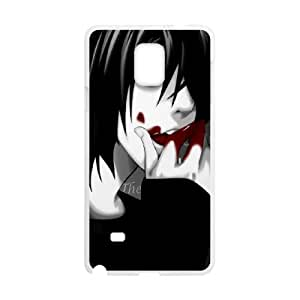 Death Note Samsung Galaxy Note 4 Cell Phone Case White DIY Ornaments xxy002-9200084