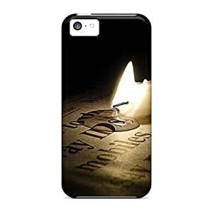 [kCNBbMJ5701UGEhe]premium Phone Case For Iphone 5c/ Fallen Candle Tpu Case Cover