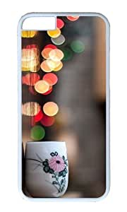 Adorable Cup City Lights Hard Case Protective Shell Cell Phone Cover For Apple Iphone 6 Plus (5.5 Inch) - PC White by ruishername