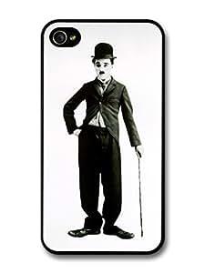 diy case Charlie Chaplin Grayscale iPhone 5c Case