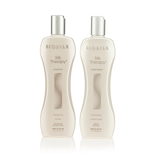 Biosilk Silk Therapy Duo Set Shampoo and Conditioner 12 - Shampoo Therapy Smoothing