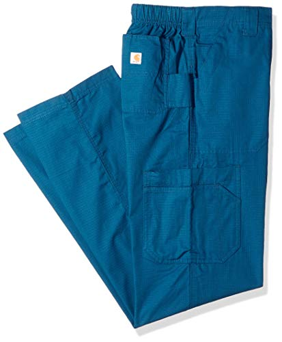 Dungarees 3 (Carhartt Men's Petite Multi-Cargo Pant, Caribbean Blue, 3 Extra Large Short)