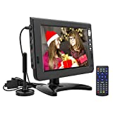 Best Portable Digital TVs - GJY 10.1 inch Portable tv Digital Multimedia ATSC+NTSC Review
