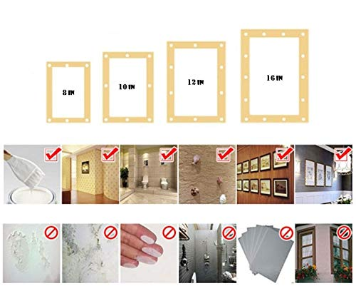 Jsinlife Sticky Tack Removable Adhesive Putty - Reusable Museum Non-Toxic Sticky Tack Poster Mounting Sticky Putty, White (4 Pack) by JSINLIFE (Image #5)